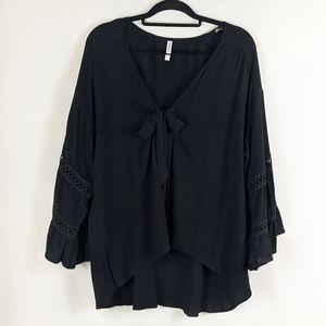 NWT Xhilaration Black Boho Kimono